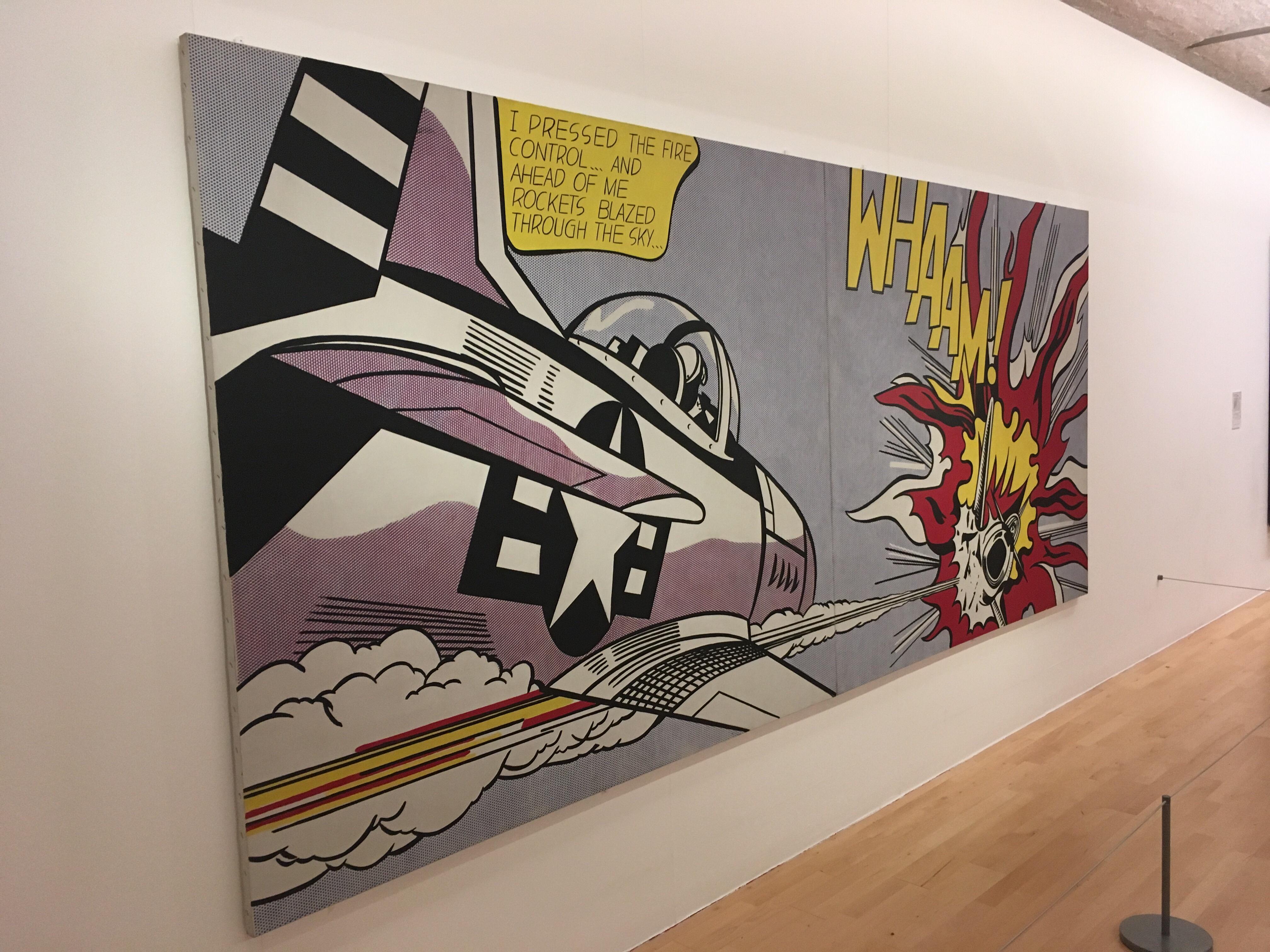 Lichtenstein at Tate liverpool